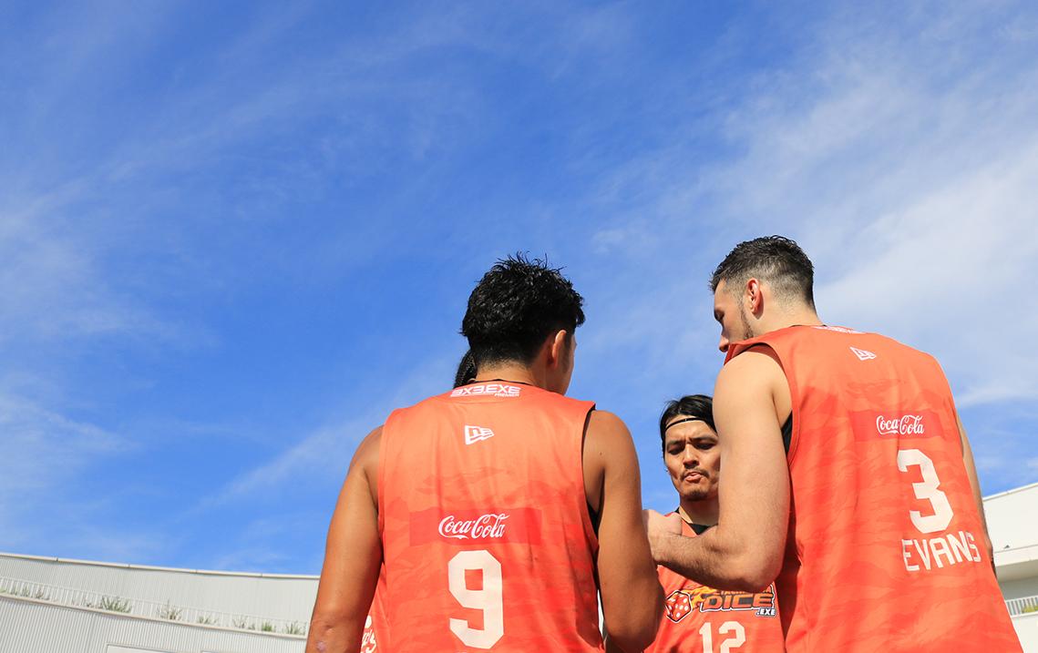 3人制バスケで世界を目指す