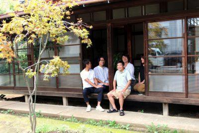 縁を紡ぐ久米川町46番地の庭