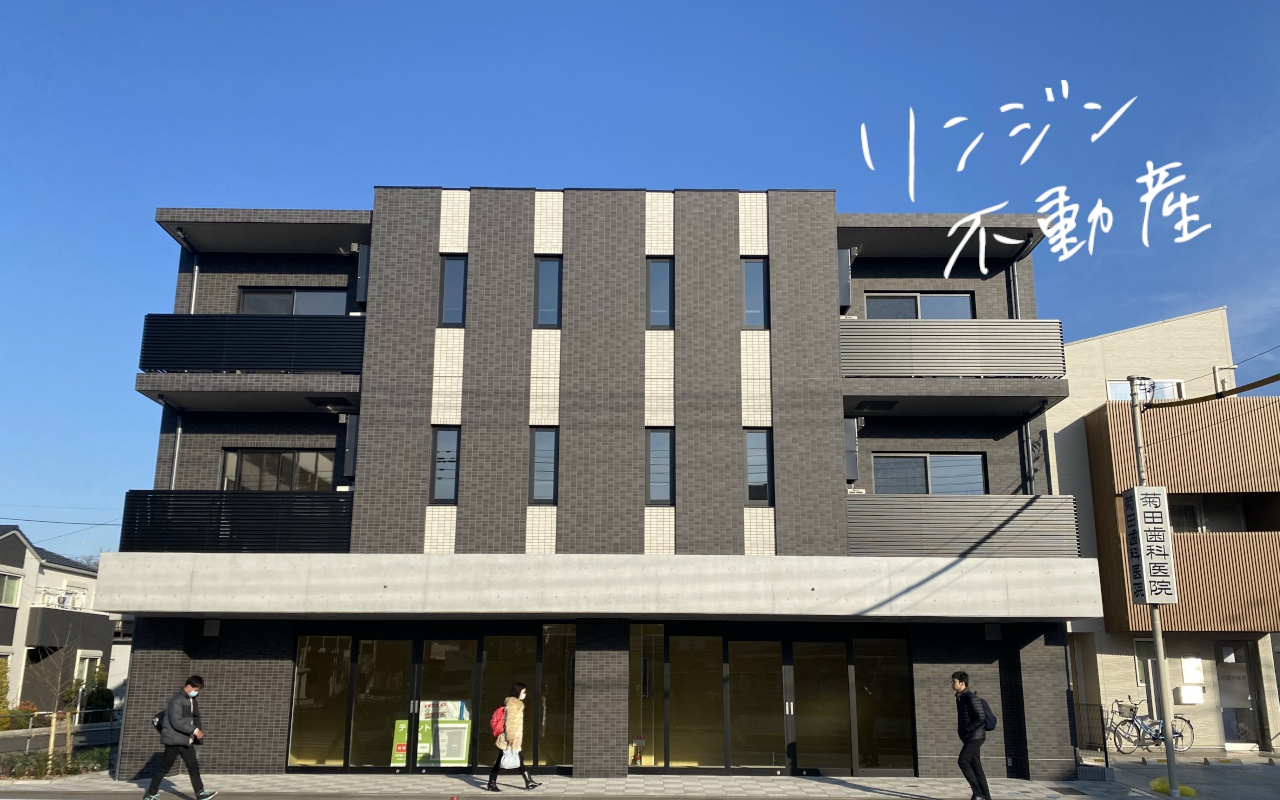 再開発が進む駅前大通の新築店舗|東小金井