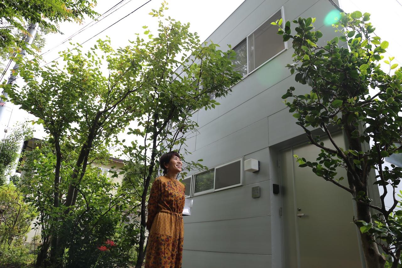庭の植物を生かす、新しい福祉施設