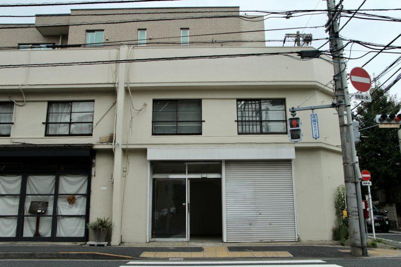 五日市街道沿いの白き2階建|吉祥寺